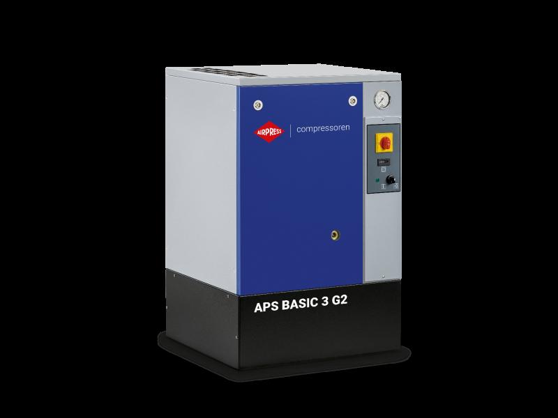 Schroefcompressor APS 3 Basic G2 10 bar 3 pk/2.2 kW 294 l/min