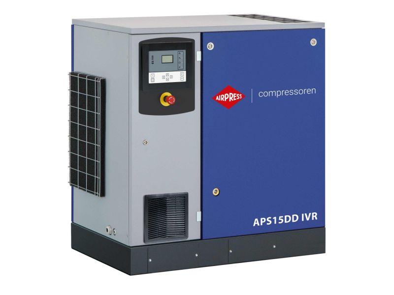 Schroefcompressor APS 15DD IVR 12.5 bar 15 pk/11 kW 265-1860 l/min