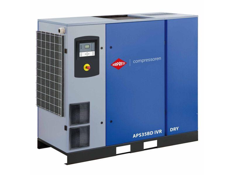 Schroefcompressor APS 35BD IVR Dry 13 bar 35 pk/26 kW 770-4835 l/min