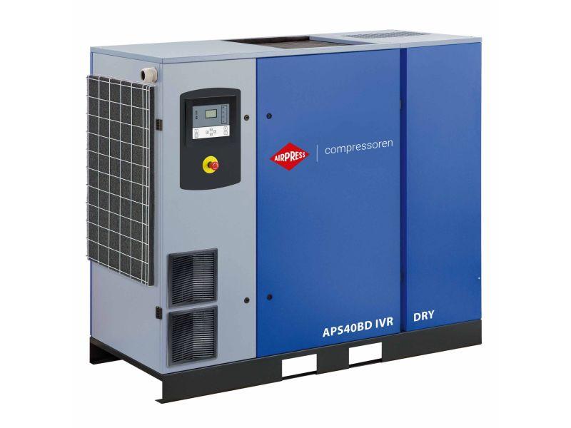 Schroefcompressor APS 40BD IVR Dry 13 bar 40 pk/30 kW 1000-5800 l/min