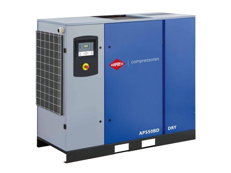 Schroefcompressor APS 50BD Dry 10 bar 50 pk/37 kW 5070 l/min