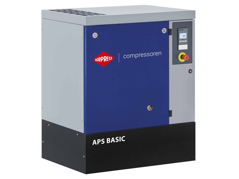 Schroefcompressor APS 15 Basic 10 bar 15 pk/11 kW 1416 l/min
