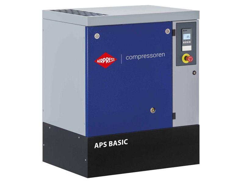 Schroefcompressor APS 20 Basic 8 bar 20 pk/15 kW 1860 l/min