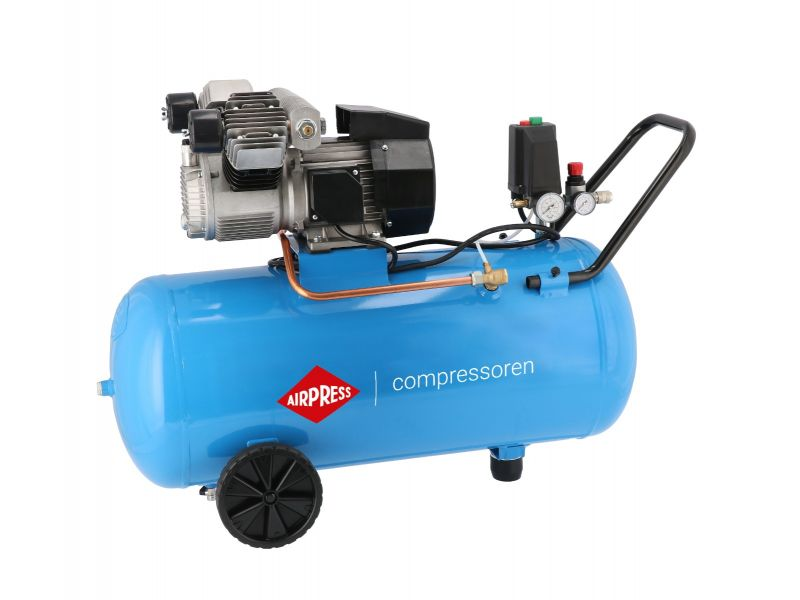 Compressor KM 100-350 10 bar 2.5 pk/1.8 kW 280 l/min 100 l