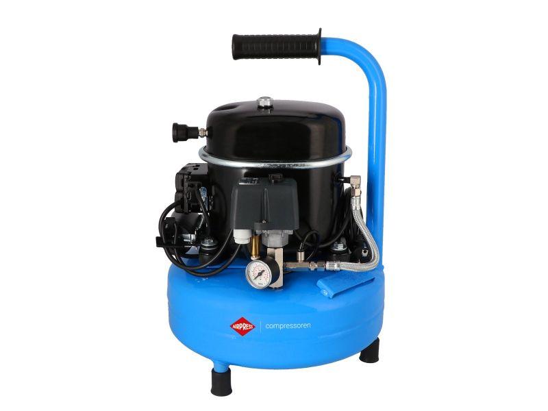 Stille Compressor L 9-75 8 bar 0.5 pk/0.34 kW 60 l/min 9 l