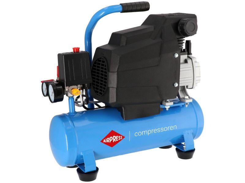 Compressor H 185-6 8 bar 1.5 pk/1.1 kW 75 l/min 6 l
