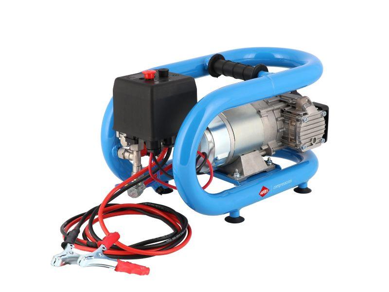 Stille Olievrije Compressor LMO 3-190 8 bar 0.7 pk/0.5 kW 152 l/min 3 l 12V