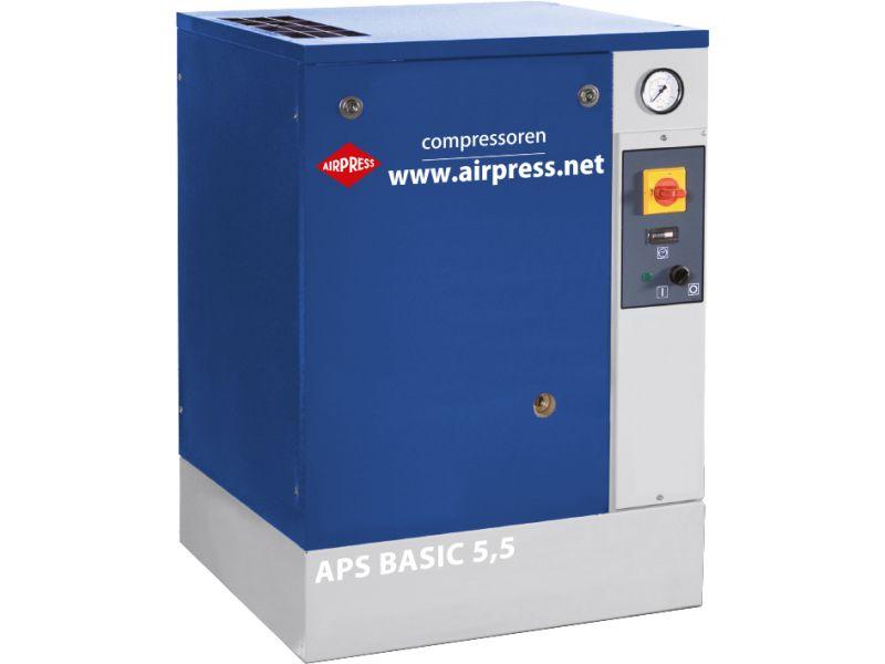 Schroefcompressor APS 5.5 Basic 10 bar 5.5 pk 470 l/min