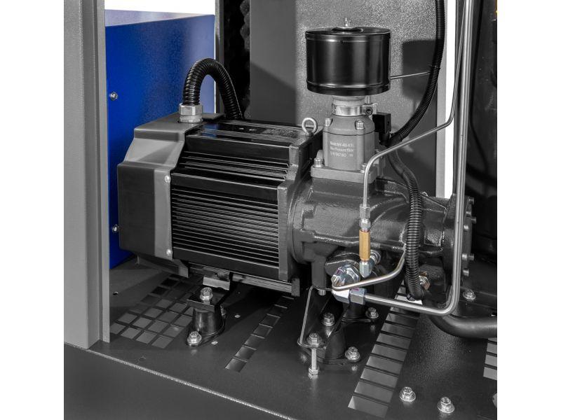 Schroefcompressor APS 20 Combi Dry X 10 bar 20 pk/15 kW 1870 l/min 500 l