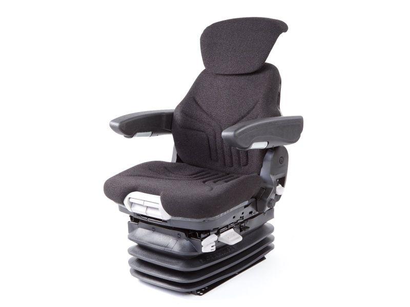 Trekkerstoel Maximo Comfort Plus stof zwart 1256419