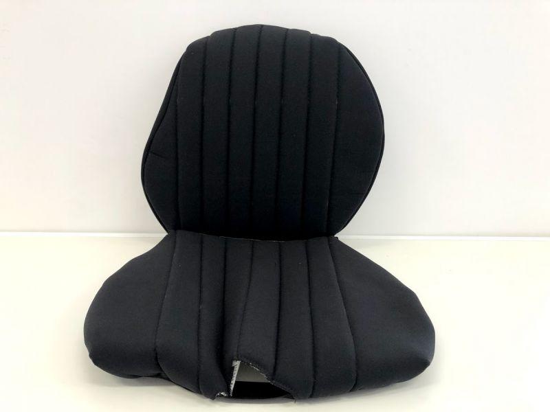 Hedo spanhoezen stof voor Grammer stoel PRIMO L/XL zwart 2 delig