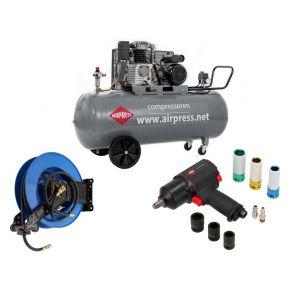 Compressor HL 425-200 Pro 10 bar 3 pk/2.2 kW 280 l/min 200 l Plug & Play