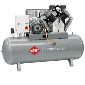 Compressor HK 2000-500 SD Pro 11 bar 15 pk/11 kW 1395 l/min 500 l ster-driehoek schakelaar