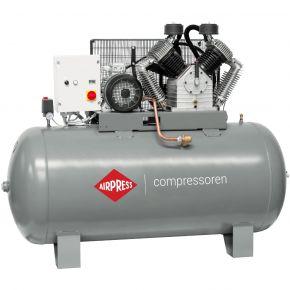 Compressor HK 2000-900 SD 11 bar 15 pk 1395 l/min 900 l ster-driehoek schakelaar