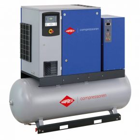 Schroefcompressor APS 15DD IVR Combi Dry 12.5 bar 15 pk/11 kW 265-1823 l/min 500 l