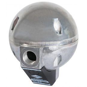 Automatische condensaftap AOK-20B vlotter voor afscheiders en filters