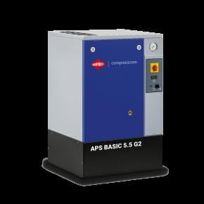 Schroefcompressor APS 5.5 Basic 10 bar 5.5 pk 516 l/min