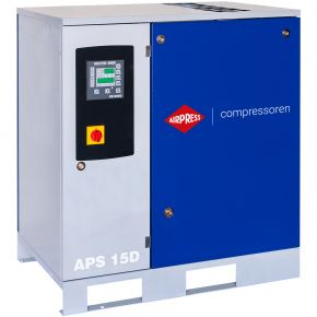 Schroefcompressor APS 15D 8 bar 15 pk 1665 l/min