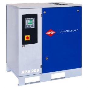Schroefcompressor APS 20D 8 bar 20 pk/15 kW 2000 l/min