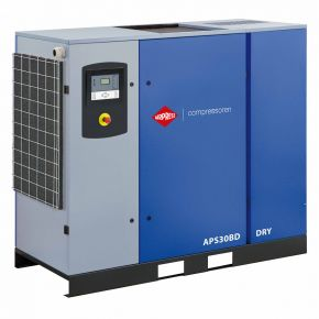 Schroefcompressor APS 30BD Dry 7.5 bar 30 pk/22 kW 3870 l/min