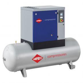 Schroefcompressor APS 7.5 Basic Combi 10 bar 7.5 pk/5.5 kW 690 l/min 500 l