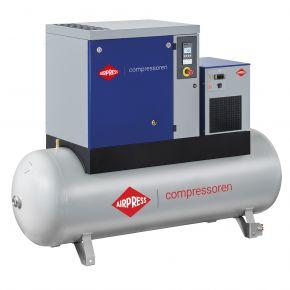 Schroefcompressor APS 20 Basic Combi Dry 8 bar 20 pk/15 kW 1860 l/min 500 l