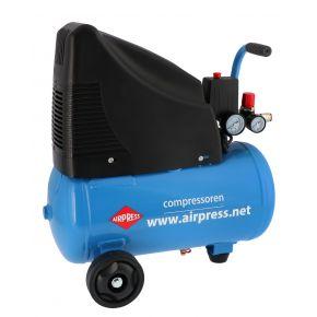 Olievrije Compressor HLO 215-25 8 bar 1.5 pk 172 l/min 24 l