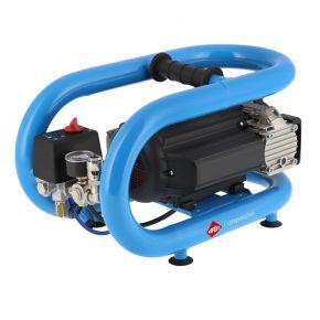 Stille Olievrije Compressor LMO 3-210 8 bar 0.7 pk/0.5 kW 168 l/min 3 l
