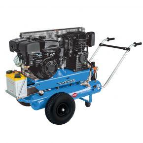 Mobiele Benzine Compressor BM 17+17 10 bar 5.5 pk/4 kW 450 l/min 2 x 17 l (Demo)