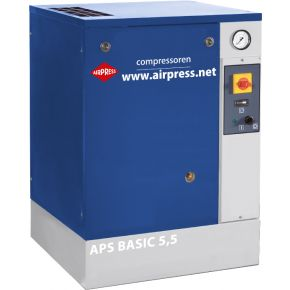Schroefcompressor APS 5.5 Basic 10 bar 5.5 pk 470 l/min