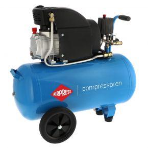 Compressor HL 325-50 8 bar 2.5 pk/1.8 kW 195 l/min 50 l