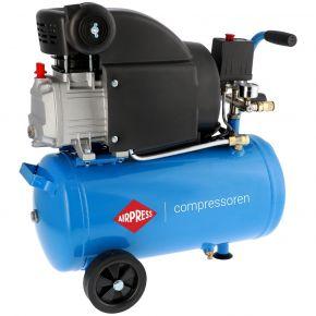 Compressor HL 310-25 8 bar 2 pk 157 l/min 24 l