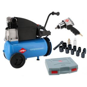 Compressor H 360-25 10 bar 2.5 pk/1.8 kW 288 l/min 25 l Plug & Play