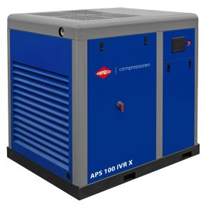 Schroefcompressor APS 100 IVR X 10 bar 100 pk/75 kW 2540-11440 l/min