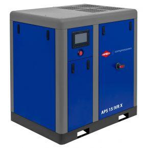 Schroefcompressor APS 15 IVR X 10 bar 15 pk/11 kW 380-1410 l/min