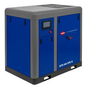 Schroefcompressor APS 60 IVR X 10 bar 60 pk/45 kW 2310-6420 l/min