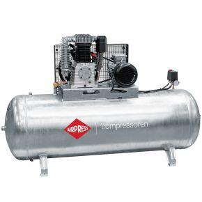 Compressor G 1000-500 Pro 11 bar 7.5 pk/5.5 kW 698 l/min 500 l verzinkt
