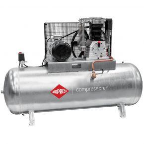 Compressor G 1500-500 Pro 11 bar 10 pk/7.5 kW 859 l/min 500 l verzinkt