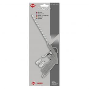 Blaaspistool met lange tuit en insteeknippels