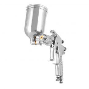 Verfspuit 5 bar 2.5 mm nozzle 400 ml bovenbeker
