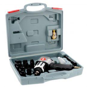 """Slagmoersleutel met doppen 1/2"""" 610 Nm 7500 rpm 6.2 bar 240 l/min"""