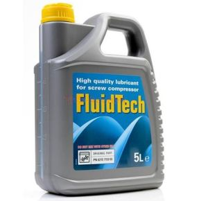 Schroefcompressor olie 5 l Fluidtech