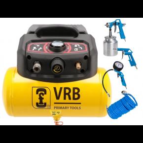 Compressor LC6-1.5 VRB 8 bar 1.5 pk/1.1 kW 129 l/min 6 l Plug & Play