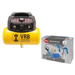 Compressor 8LC6-1.5 VRB 8 bar 1.5 pk 180 l/min 6 l Plug & Play
