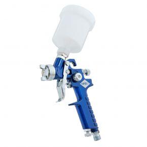 Mini Verfspuit HVLP 2 bar 1 mm nozzle 125 ml beker