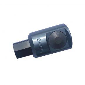 """Veiligheidskoppeling 1/4"""" type Orion met drukknop"""