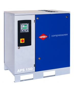 Schroefcompressor APS 15D 8 bar 15 pk 1665 l/min
