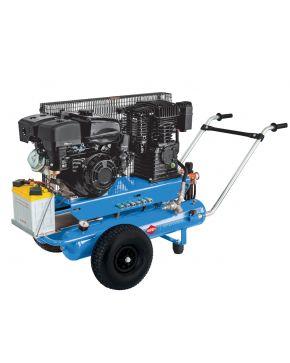 Mobiele Benzine Compressor BM 17+17 10 bar 5.5 pk 2 x 17 l 450 l/min