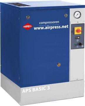 Schroefcompressor APS 3 Basic 10 bar 3 pk 240 l/min