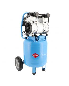 Stille Olievrije Compressor LMVO 40-250 8 bar 2 pk 150 l/min 38 l